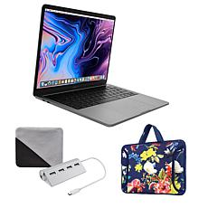 "Apple MacBook Pro Intel Core i5 13"" Retina 128GB Laptop w/Carry Case"