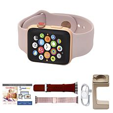 Apple Series 3 38mm GPS Sport Watch w/Calls, Texts and 2 Extra Bands