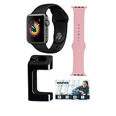 Apple Watch® Series 3 38mm with GPS and Extra Band - Space Gray