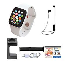 Apple WatchSeries 3 42mm with Cellular & Wireless Headphones – Whi...