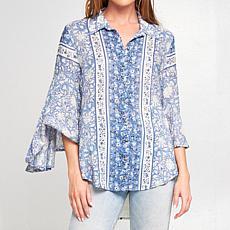 Aratta Blue Eliza Shirt