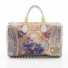 Aratta Large Ivory Renaissance Handbag