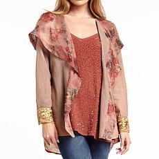 Aratta Looks Authentic Hoody Shirt Cardigan