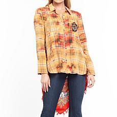 Aratta Olga Pauline Shirt - Orange/Red