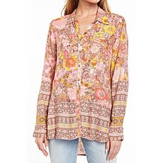Aratta Rose Medallion Shirt