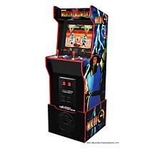 Arcade1Up 5 ft. Mortal Kombat Arcade Machine with Light-up Marquee