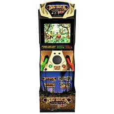 Arcade1Up Big Buck Hunter Pro with Riser & Tin Sign, 4 Games in 1
