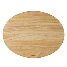 Architec® Gripperwood™ Oval Concave Cutting Board - 14 x 18""