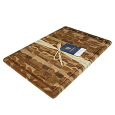 "Architec Madeira End Grain Extra Large Carving Board -14 x 20"" - Teak"