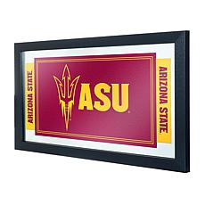 Arizona State University Logo and Mascot Framed Mirror