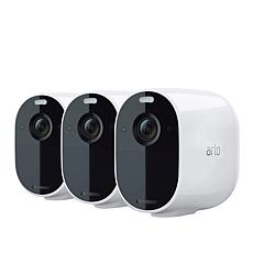 Arlo Essential Indoor/Outdoor Spotlight Camera 3-pack