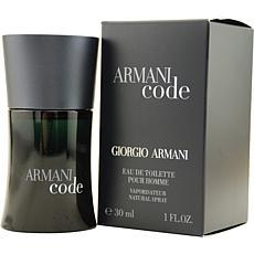 Armani Code by Giorgio Armani - EDT Spray for Men 1 oz.