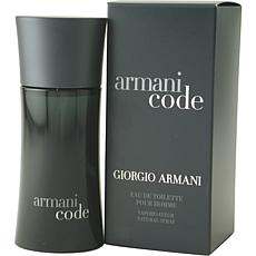 Armani Code by Giorgio Armani-EDT Spray for Men 4.2 oz.