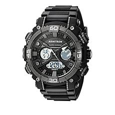 Armitron Men's Black Digital Chronograph Sport Watch
