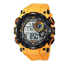 Armitron Men's Yellow/Black Digital Chronograph Sport Watch