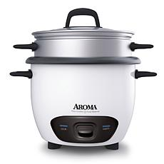 Aroma 14-Cup Rice Cooker with Outer Metal Steam Tray