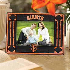 Art Glass Horizontal Frame - San Francisco Giants