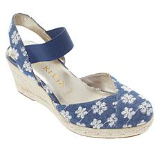 """As Is"" Anne Klein Acer Espadrille Wedge"