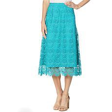"""As Is"" Antthony Crochet Maxi Skirt"