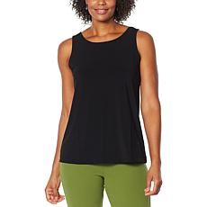 """As Is"" Antthony Easy Scoop-Neck Solid Tank"
