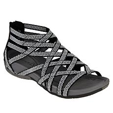 """As Is"" Baretraps® Samina Open-Toe Gladiator Sandal with Rebound Te..."