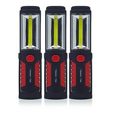 """As Is"" Bell + Howell Torchlite Plus Elite 3-pack LED Flashlights"
