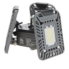 """""""As Is"""" Bell + Howell TriBurst 144 LED 3-Panel Socket Light"""