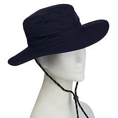 """As Is"" Bellport Gardens UV Protected Wide-Brim Hat"