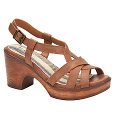 """""""As Is"""" b.o.c. Adara Leather Strappy Sandal"""
