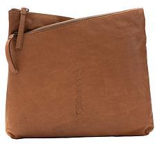 """""""As Is"""" Born® Palana Leather Crossbody Bag"""