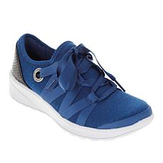 """As Is"" Bzees Glisten Ribbon Lace Washable Sneaker"