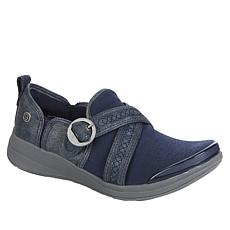 """As Is"" Bzees Indigo Washable Slip-On Shootie"