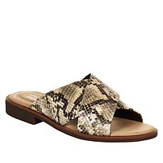 """""""As Is"""" Clarks Collection Declan Ivy Slide Sandal"""