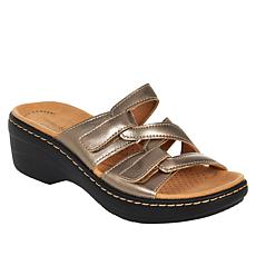 """""""As Is"""" Clarks Collection Merliah Karli Leather Sandal"""