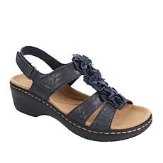 """""""As Is"""" Clarks Collection Merliah Sheryl Floral Sandal"""