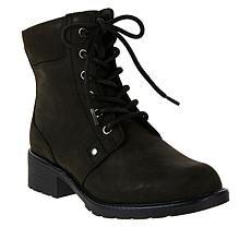 """""""As Is"""" Clarks Collection Orinoco Spice Leather Boot"""