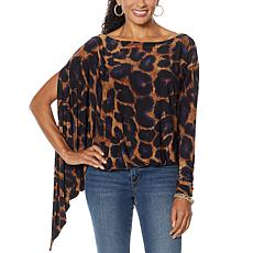 """As Is"" Coldesina Jenny Convertible Long Sleeve Top"