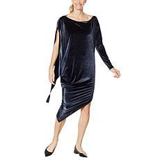 """""""As Is"""" Coldesina Jenny Long-Sleeve Velvet Dress"""