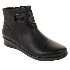 """""""As Is"""" Collection by Clarks Hope Twirl Leather Bootie"""