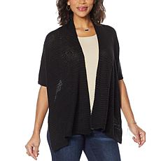 """""""As Is"""" Colleen Lopez Knit Shawl Topper"""