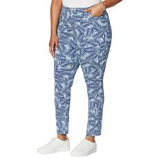 """""""As Is"""" Colleen Lopez Printed Twill Skinny Jean"""