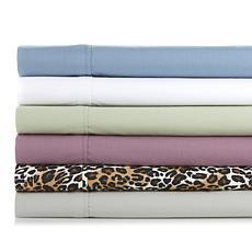 """""""As Is"""" Concierge Collection 100% Cotton 4-piece Sheet Set"""
