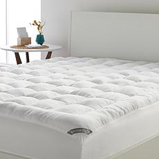 """As Is"" Concierge Collection SuperLoft™ Reversible Mattress Pad"