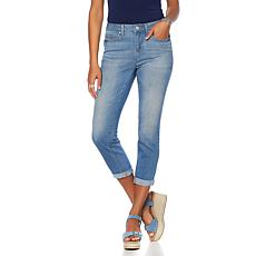 """As Is"" Curations Free-Stretch Cropped Skinny Jean"