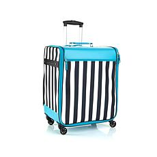 """As Is"" Debbee Flip 'N Pack Expandable Rolling Storage - Stripes"
