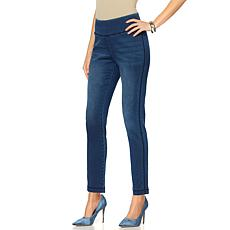 """As Is"" DG2 by Diane Gilman Comfort Stretch Jegging - Basic Colors"