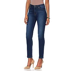 """As Is"" DG2 by Diane Gilman Virtual Stretch Up-Lifter Skinny Jean -..."
