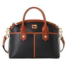 """As Is"" Dooney & Bourke Camden Saffiano Leather Domed Satchel"