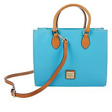 """As Is"" Dooney & Bourke Janine Leather Tote - Fashion"