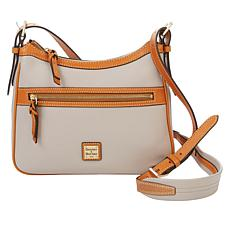 """As Is"" Dooney & Bourke Pebble Leather Piper Crossbody"